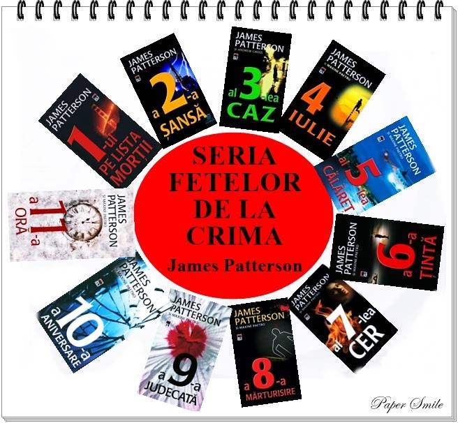 Seria Fetelor de la Crimă - James Patterson - Guest post Maria Nane